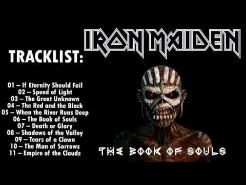 Iron Maiden The Book of Souls 2015 Full Album - YouTube