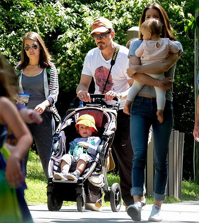 jeremy renner and sonni pacheco and robert downey,jr   Avengers Assemble!  Co-