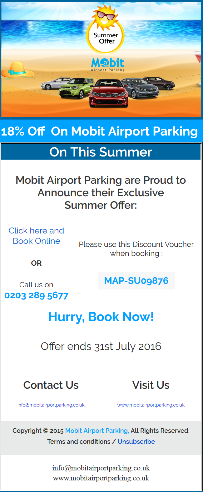 Mobit Airport Parking Brings Another Amazing Offer For The