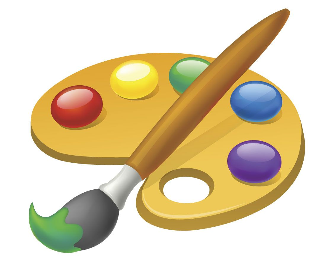 Gestion De Color Paleta De Pintor Paletas De Pintura Paleta De Pintor Dibujo