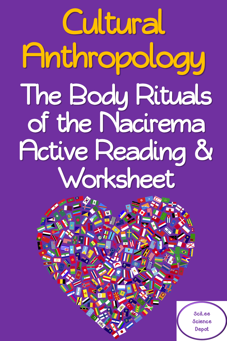 Body Ritual Among The Nacirema Active Reading Worksheet Activity High School Science Activities Reading Worksheets Education Quotes [ 1296 x 864 Pixel ]