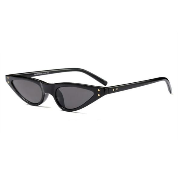 4f0e619190 loomrack 90s Small Pointy Sunglasses Sunglasses Black