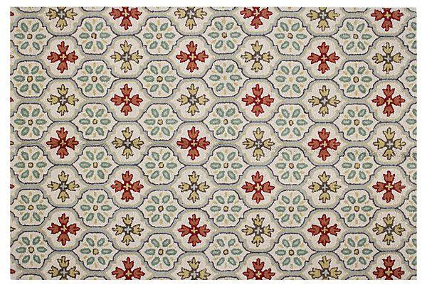 7 X9 Thena Rug Ivory Rugs Rug Pad Wool Rug