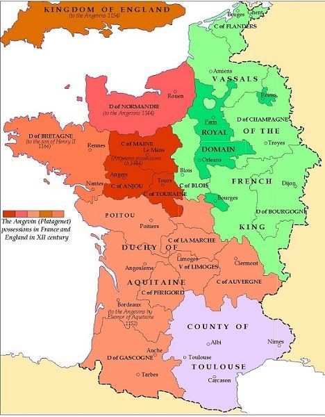 The Ancient Dukedoms of France (Aquitaine, Brittany ...