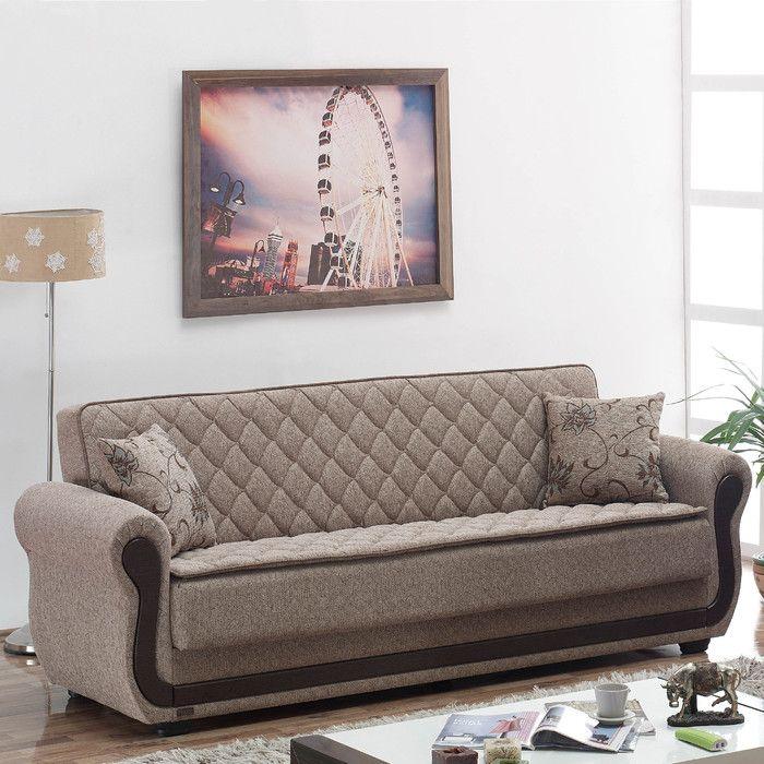 red barrel studio battles sleeper sofa reviews wayfair