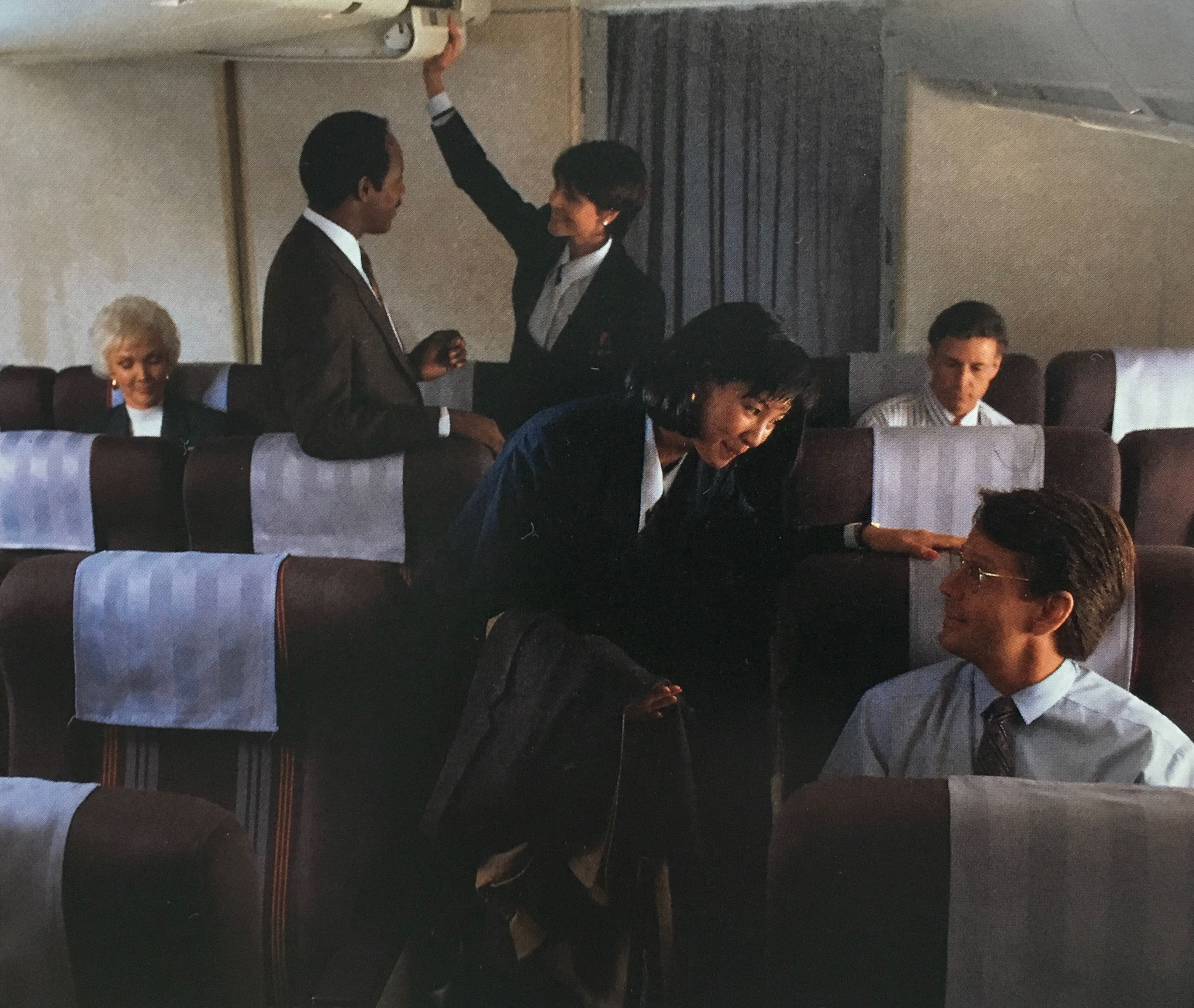 United Airlines 747 Connoisseur Class 1990s United Airlines Private Flights Vintage Airlines