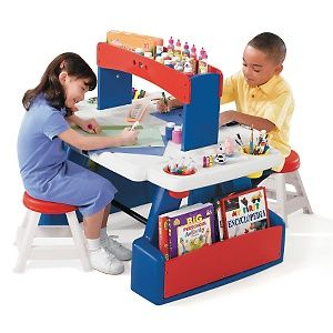Wondrous Step 2 Creative Projects Table At Hsn Com Kid Stuff Gmtry Best Dining Table And Chair Ideas Images Gmtryco