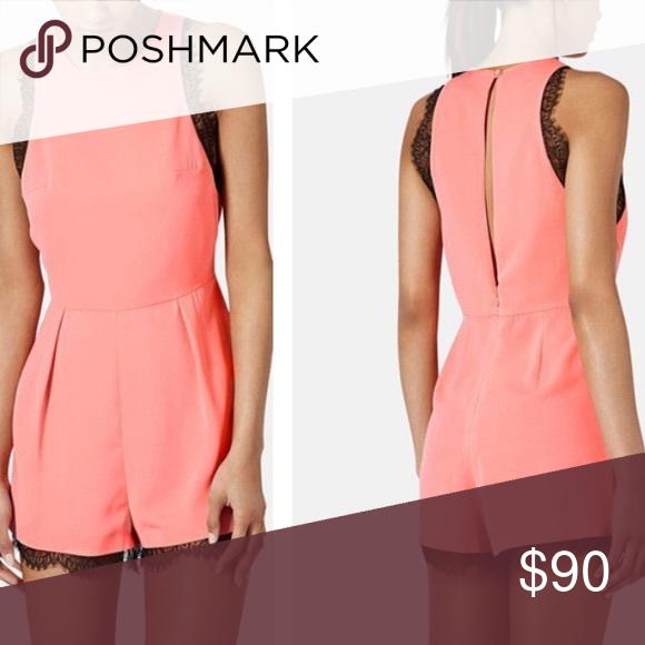 Top Shop Dress, Pink Playsuit