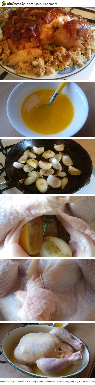 Vickys Maple Roast Turkey/Chicken, Gluten, Dairy, Egg & Soy-Free Christmas