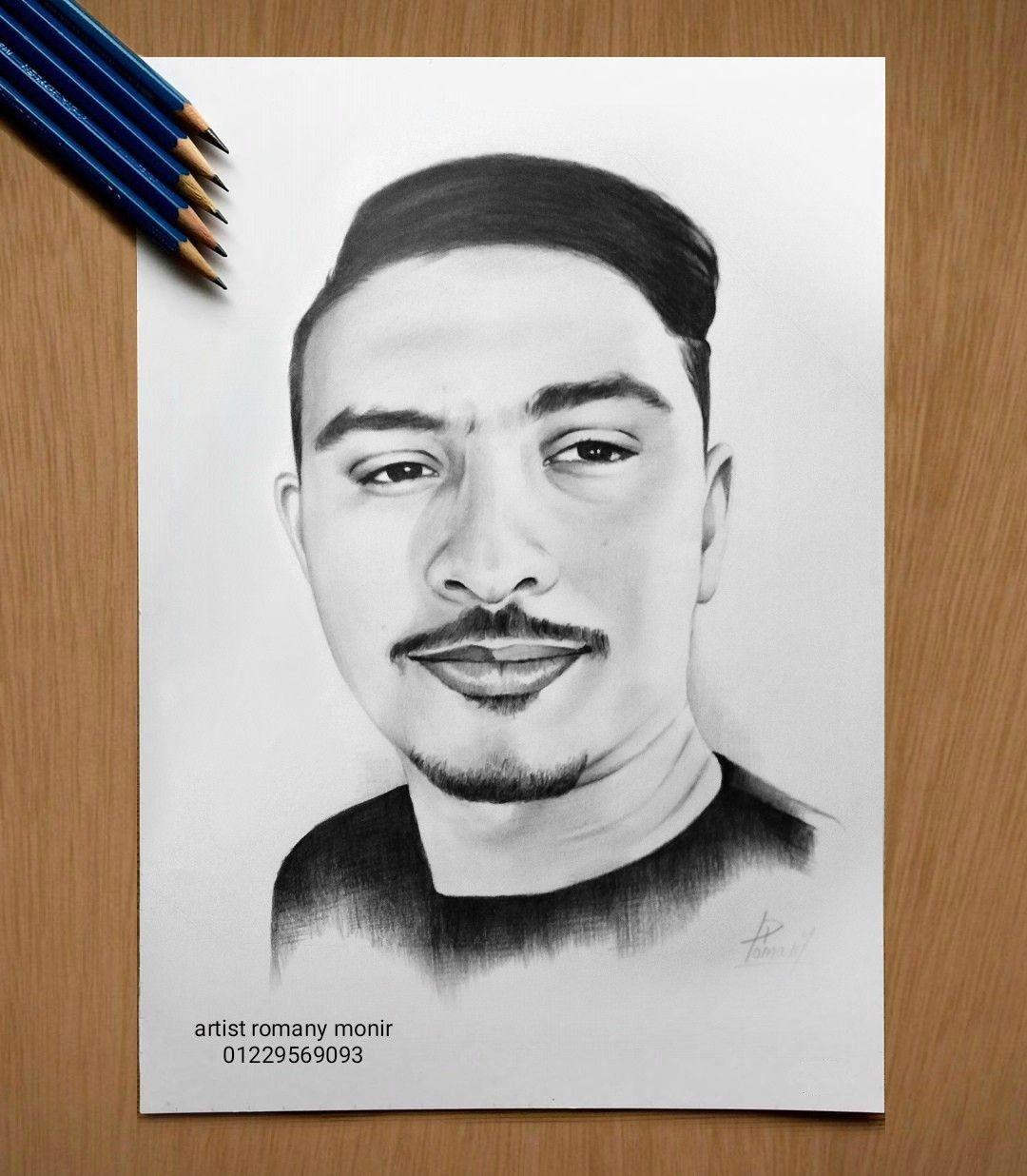 رسم الاشخاص حسب الطلب01229569093 Art Male Sketch Male