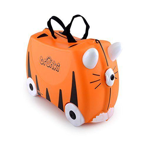 Amazon Com Trunki The Original Ride On Suitcase New Tipu Orange Baby Trunki Suitcases Kids Luggage Trunki