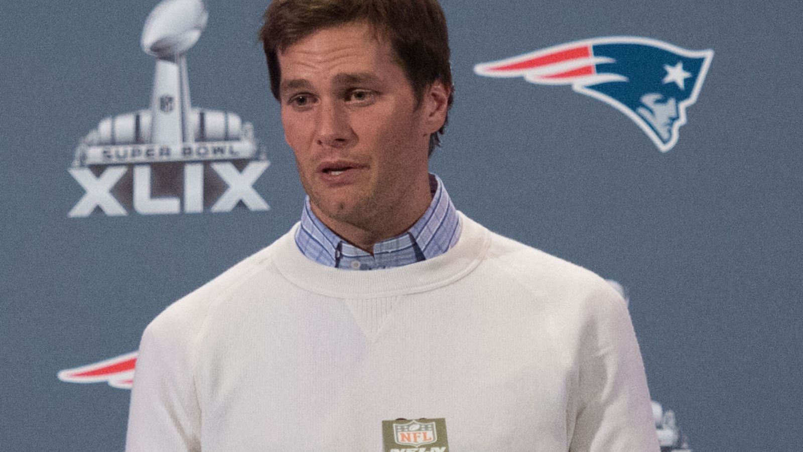 That secret video? Yeah, it's nothing at all. And the Patriots sent it in.