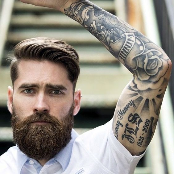 Skägg och tatueringar dating