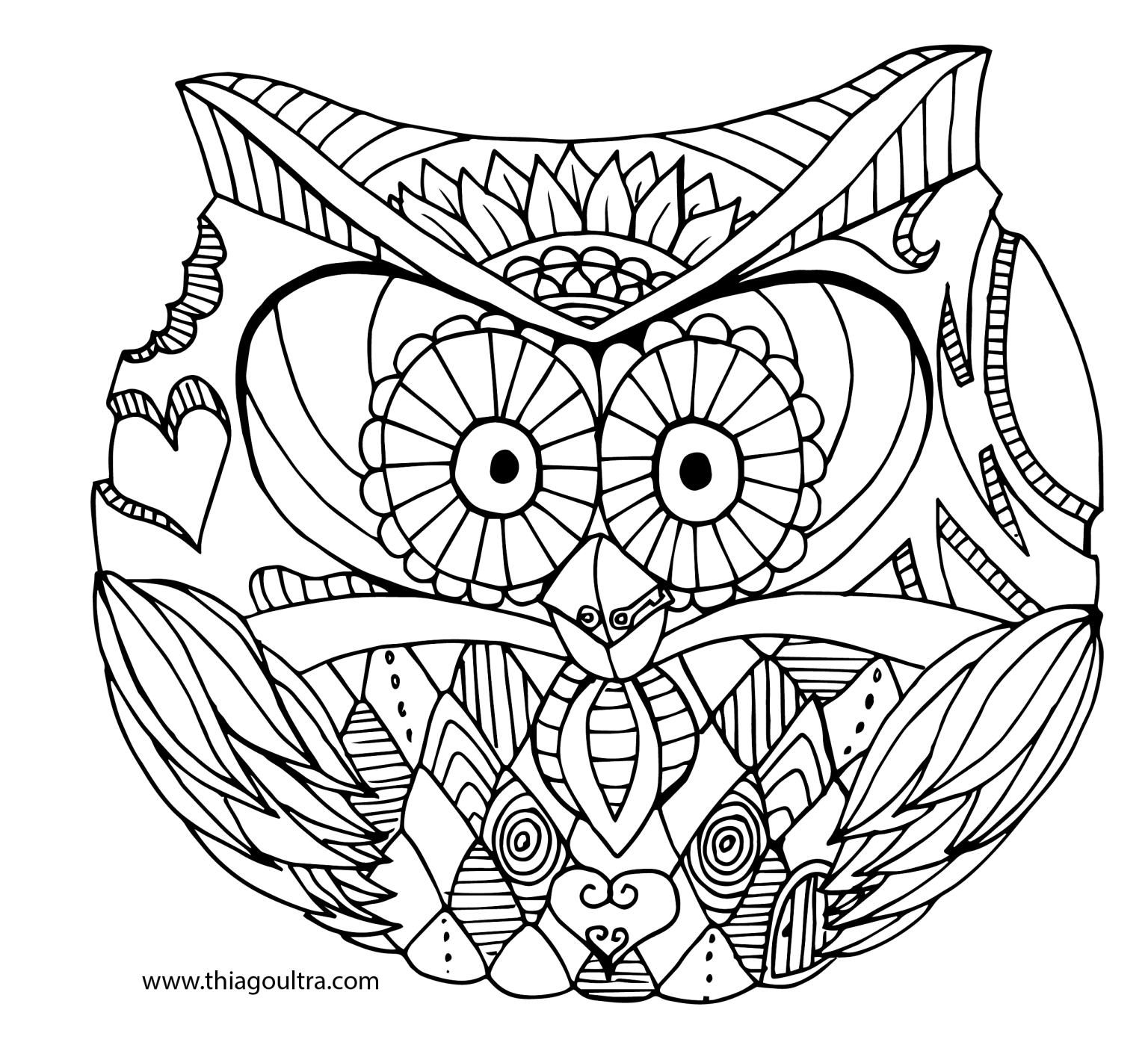 Rounded Owl 01