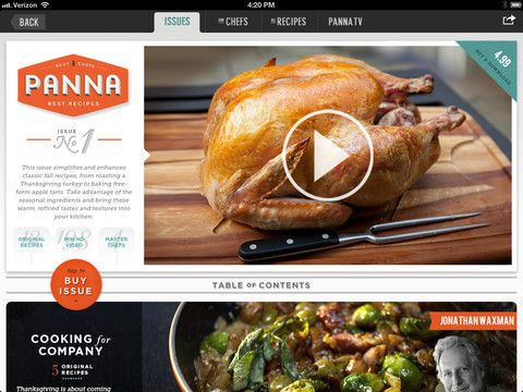 Panna app ipad recipes ui ux stuff pinterest interactive explore best apps ui ux design and more panna app ipad recipes forumfinder Images