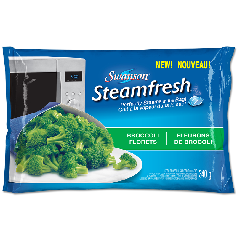 Swanson Steamfresh Broccoli Florets Broccoli Brocoli