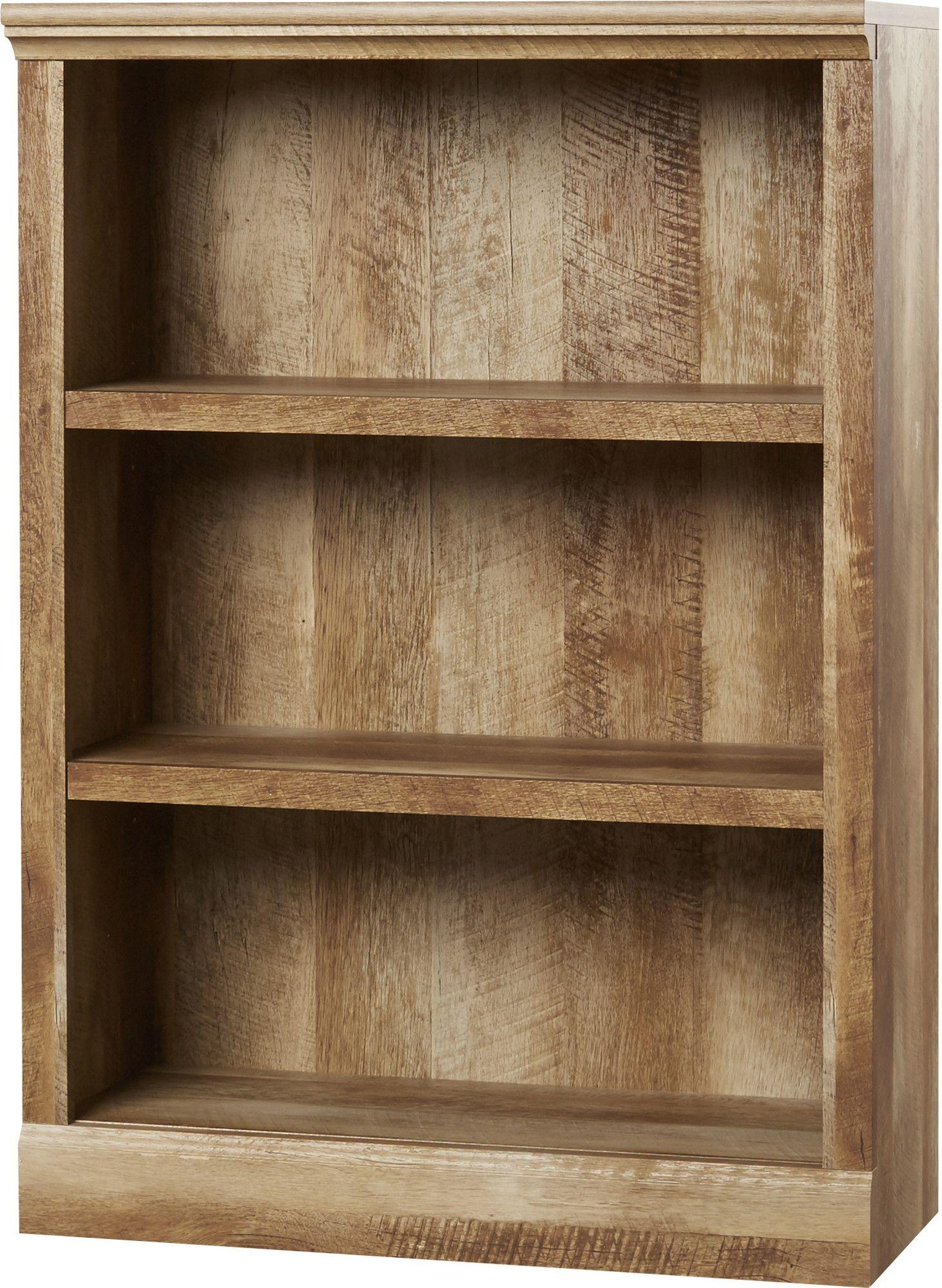 Elencourt Standard Bookcase Bookcase Shelves Scarf Organization