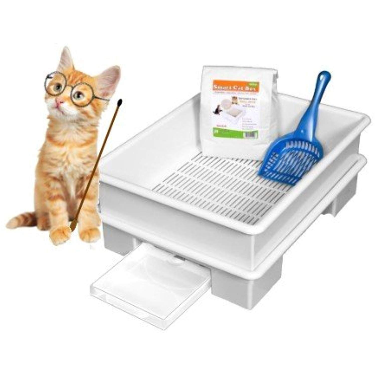SMART CAT BOX Starter Kit Cat Litter Box DOES NOT USE