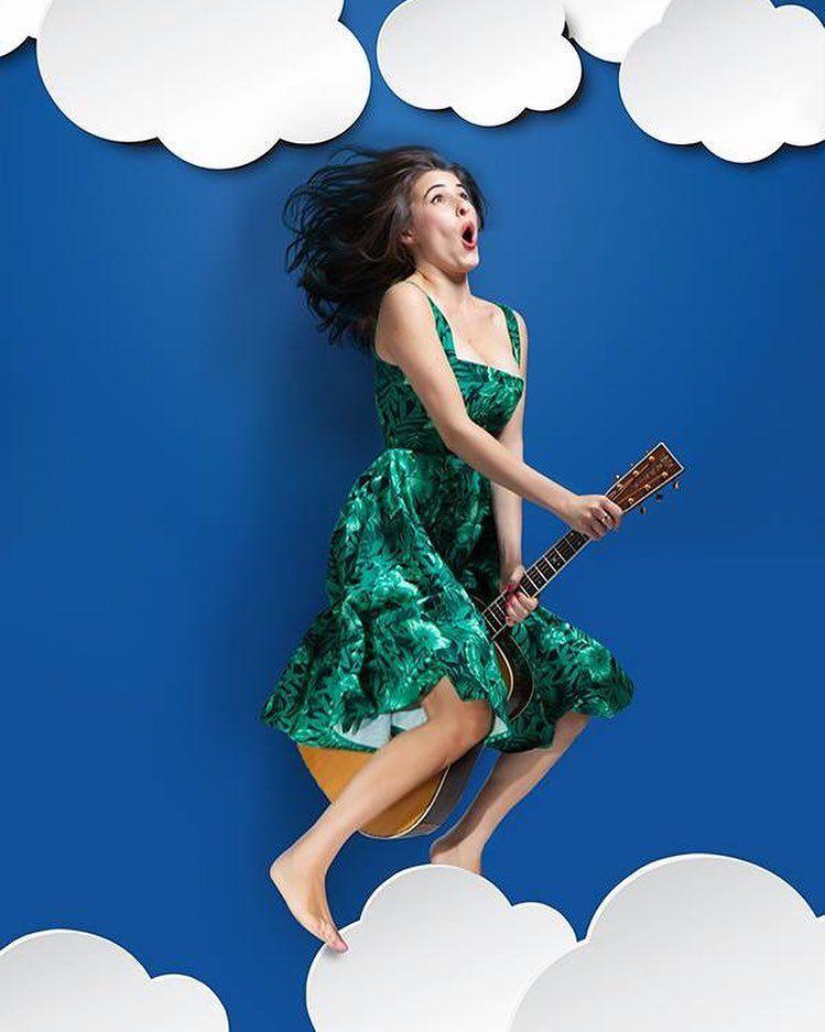 #DianaDelBufalo Diana Del Bufalo: Sempre tra le nuvole!! ☁️