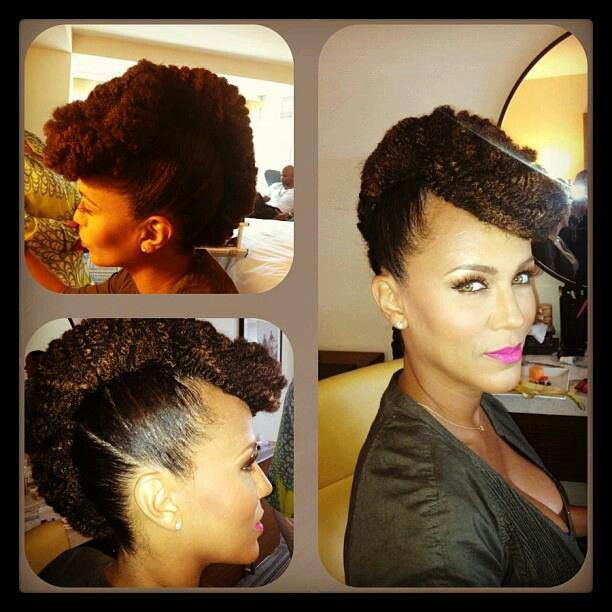 French Roll With Marley Hair Hair Styles Natural Hair Inspiration Long Hair Styles