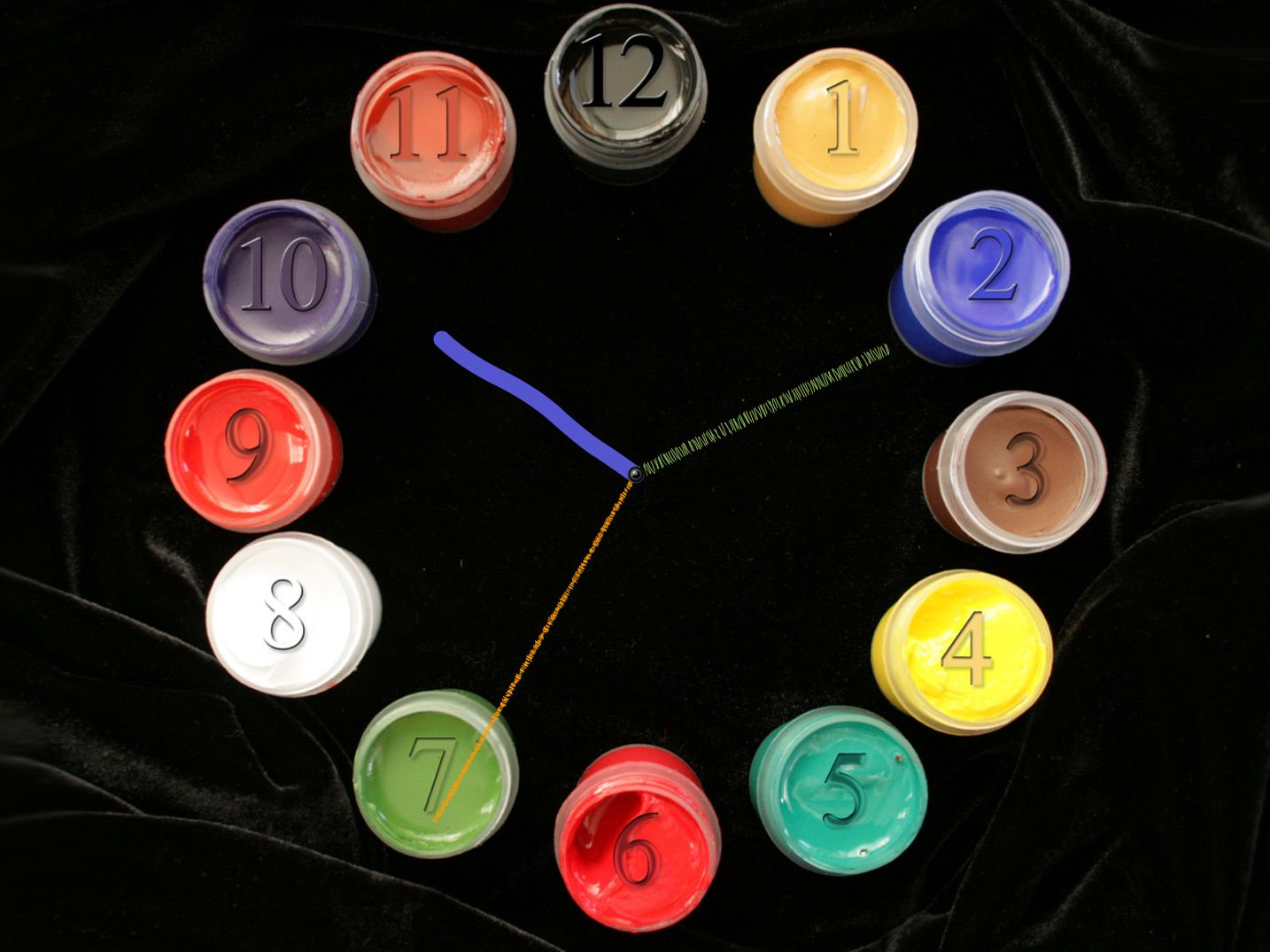 paintbrush clock screensaver 2.4 free download for windows 8
