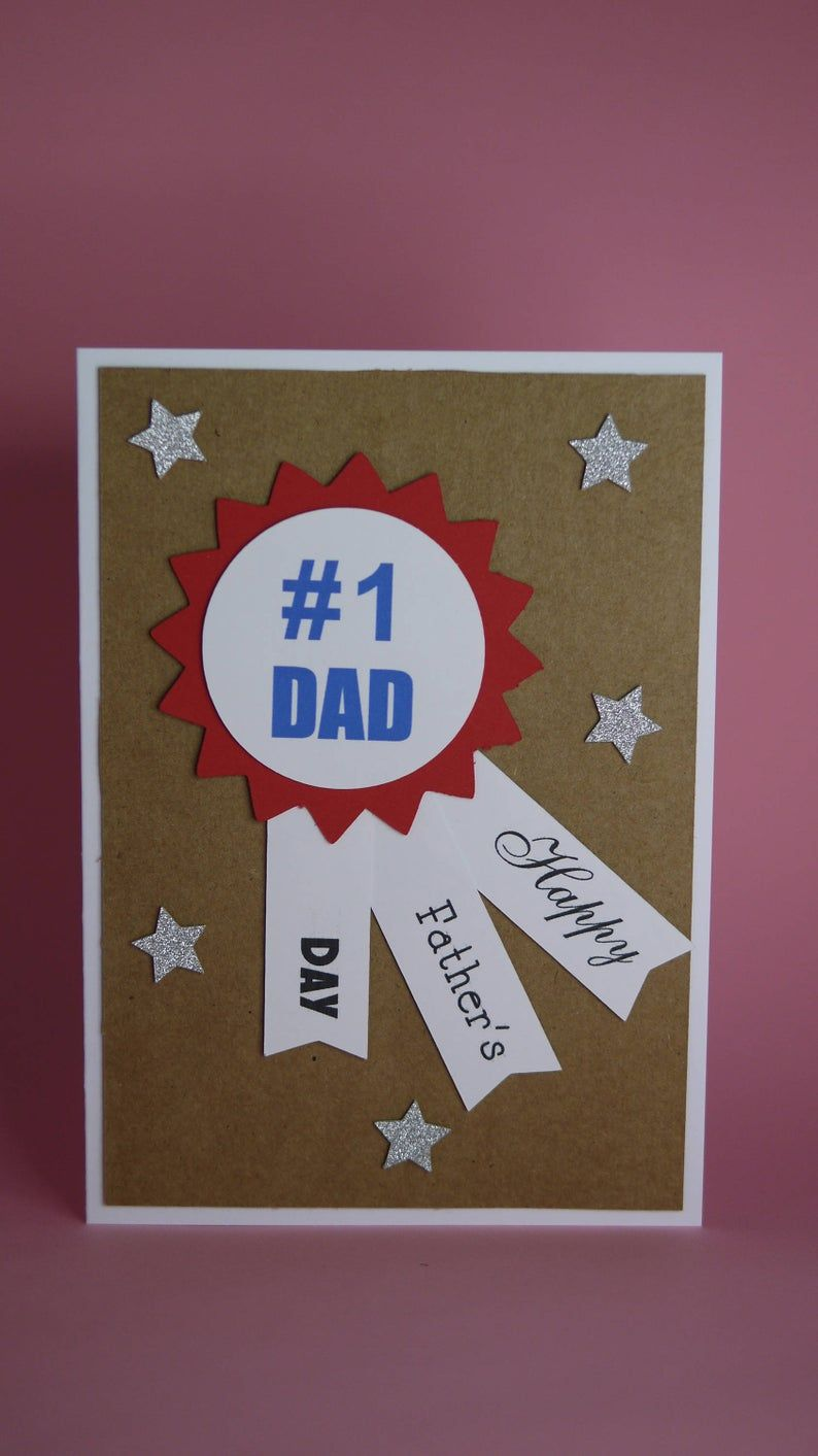 Handmade Fathers Day/Birthday Card, daddy father's day ...