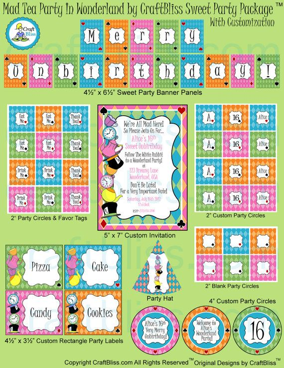 Mad Tea Party Giveaway! Source www.craftbliss.com