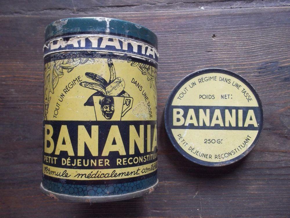 vintage ancienne boite de collection chocolat banania ann es 30 40 banania pinterest. Black Bedroom Furniture Sets. Home Design Ideas