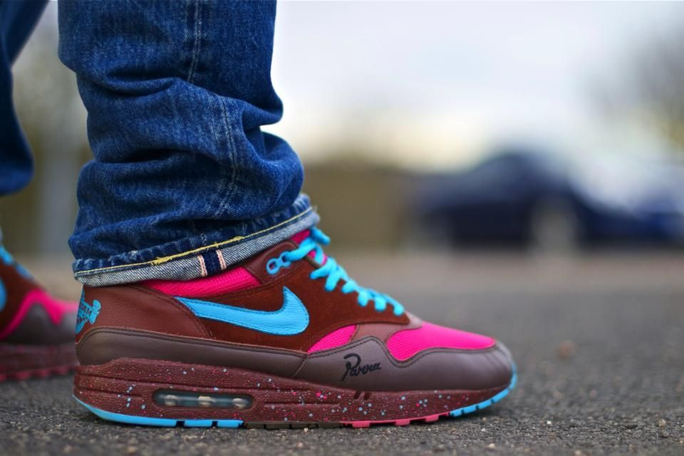 best service 7ed03 558b1 Nike Air Max 1 Amsterdam Parra Friends and Family