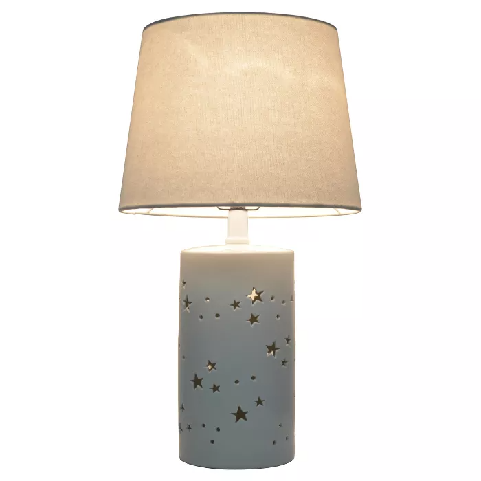 2 In 1 Starry Table Lamp White Pillowfort In 2021 White Table Lamp Table Lamp Lamp