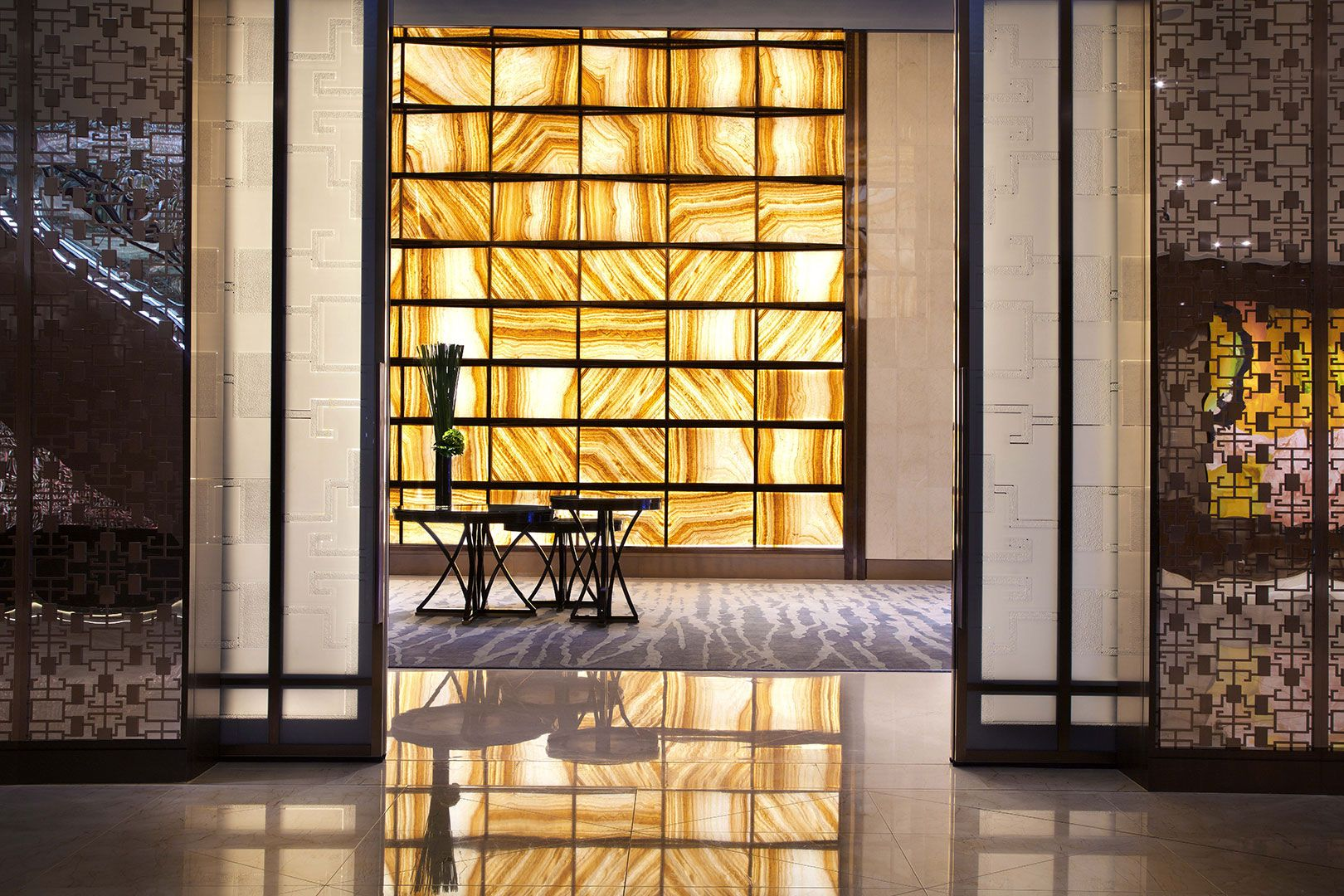Hba jw marriott galaxy macau id projects i worked on for Hotel lobby design trends