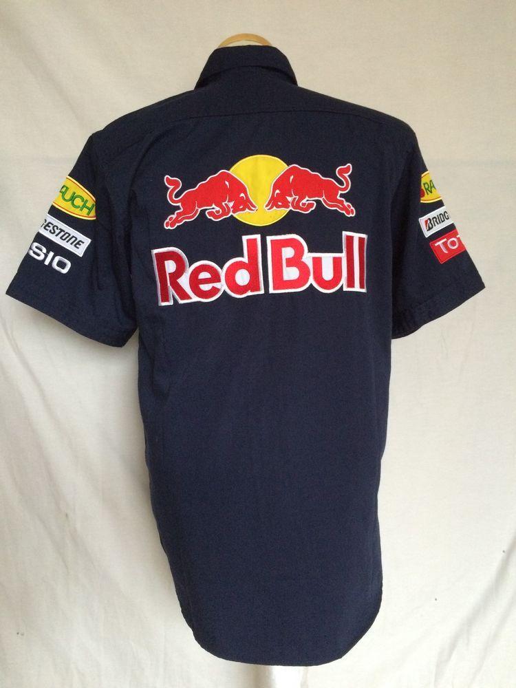 7b8615a00 Red Bull Sauber Petronas Racing Shirt Medium Blue Bridgetsone Rauch Mens.  Find this Pin and ...