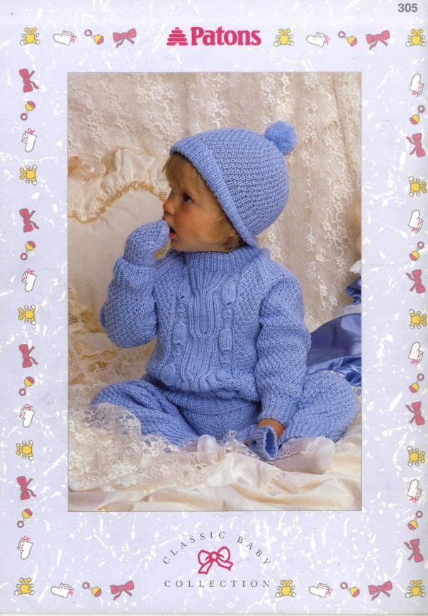 Patons 305 Classic Baby Collection : Free Download, Borrow ...