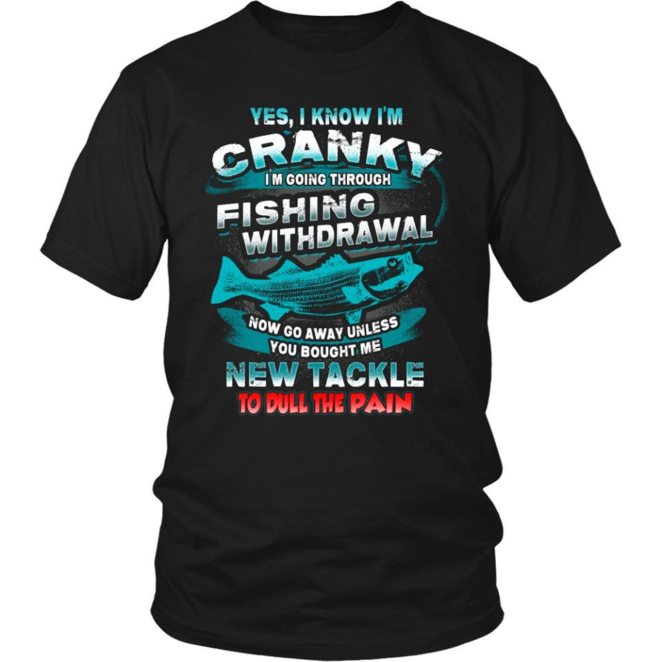 Are you a fishing fanatic? Then you must have this.   We Also Have Hoodies Available  GET YOURS HERE ==> https://t.co/UHLIgzzZ5c http://ift.tt/2pWgBaF