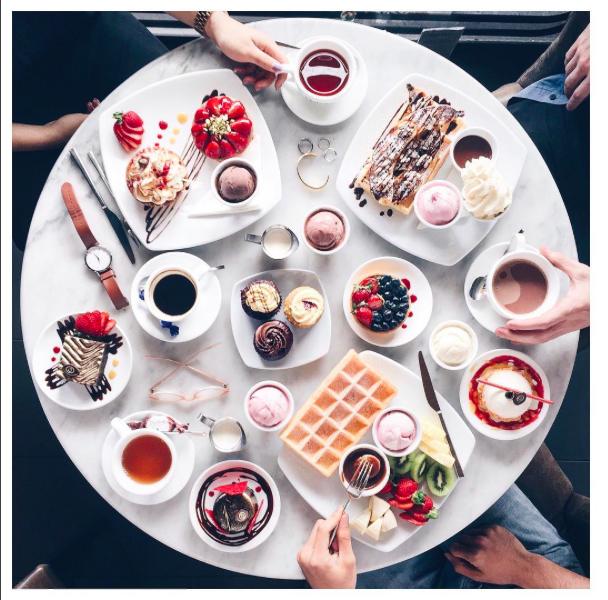 Breakfast - photo by @lichipan // #timeto: feast.
