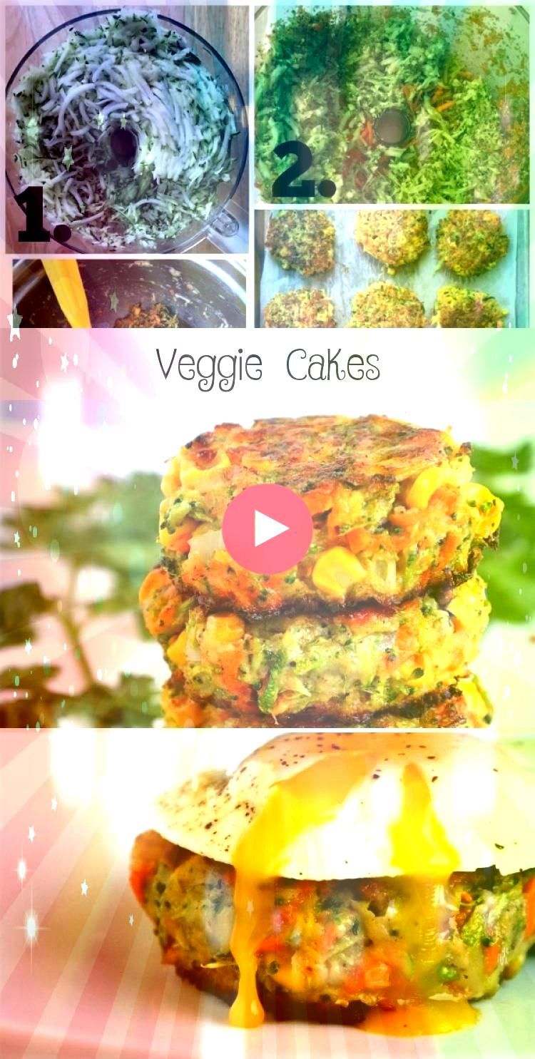 Cakes Veggie cakes are a tasty way to get more vegetables into your diet especially if you have picky eaters Made with grated vegetables  carrots broccoli zucchini and a...