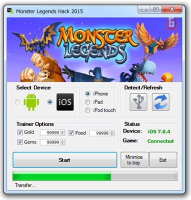 Monster Legends Hack Free Gems Cheats - Premium Hacks cheats and Tools for  Players