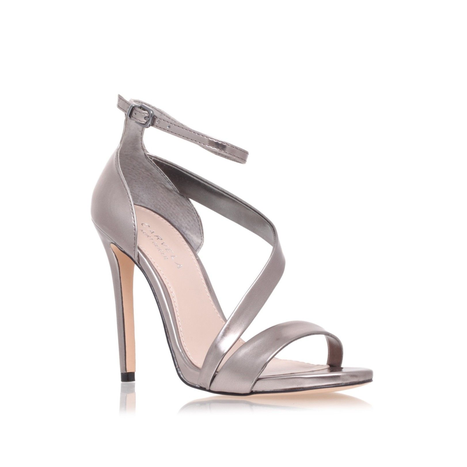 gosh metallic shoe by carvela kurt geiger  women shoes sandals