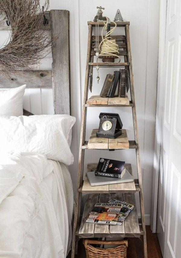 tag re chelle plus de 65 id es en images etagere echelle le recyclage et. Black Bedroom Furniture Sets. Home Design Ideas