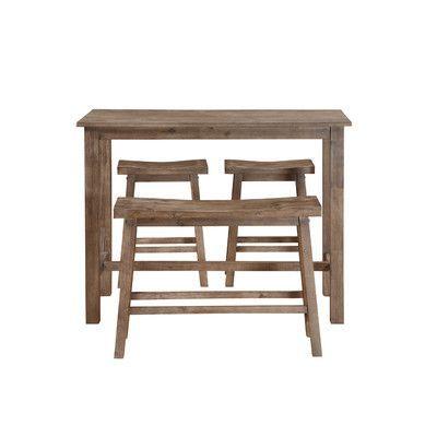 Boraam Sonoma 4 Piece Pub Table Set