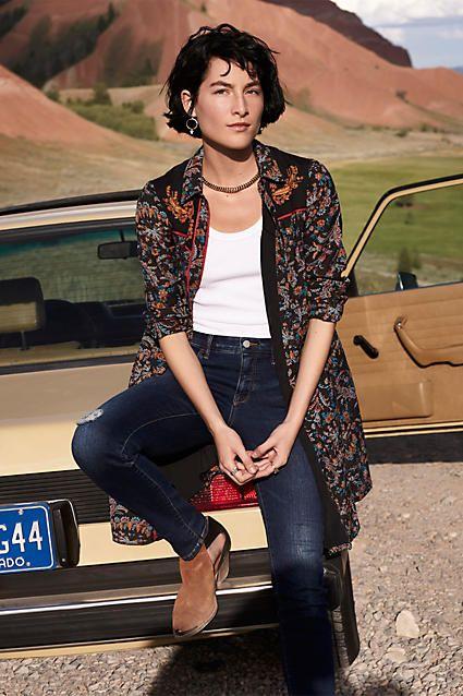 Pilcro Stet Mid-Rise Jeans   shoes   Pinterest   Dress ...