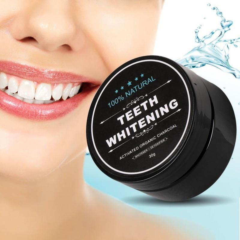 Activated Charcoal Teeth Whitening Powder #bestteethwhitening