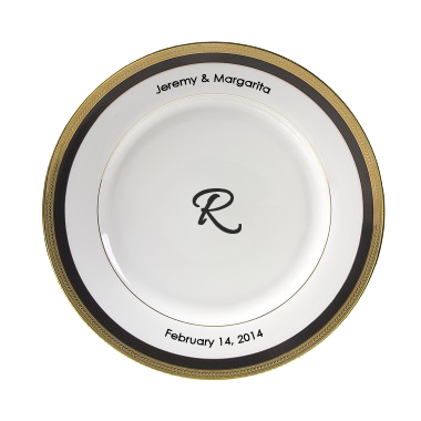 Sahara Personalized 10.75'' Porcelain Dinner Plate $55