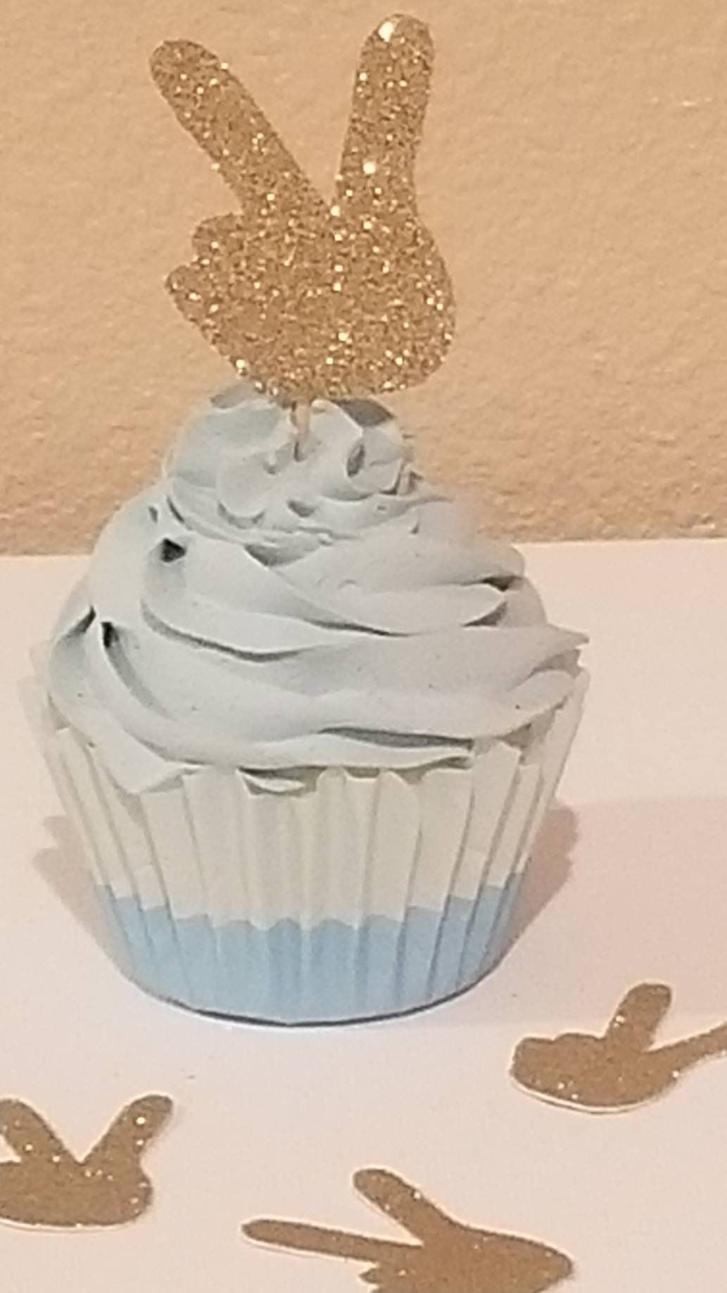 Second Birthday Party Decor Two Party Supplies Two Cupcake Toppers Set of 12