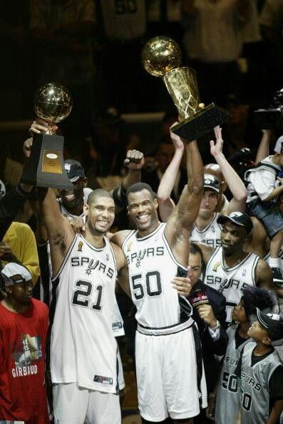 Duncan And Robinson San Antonio Spurs Spurs Spurs Fans