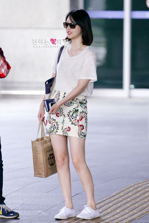 F X Sulli Korean Stars Airport Fashion Casual Style Pinterest Airport Fashion Kpop