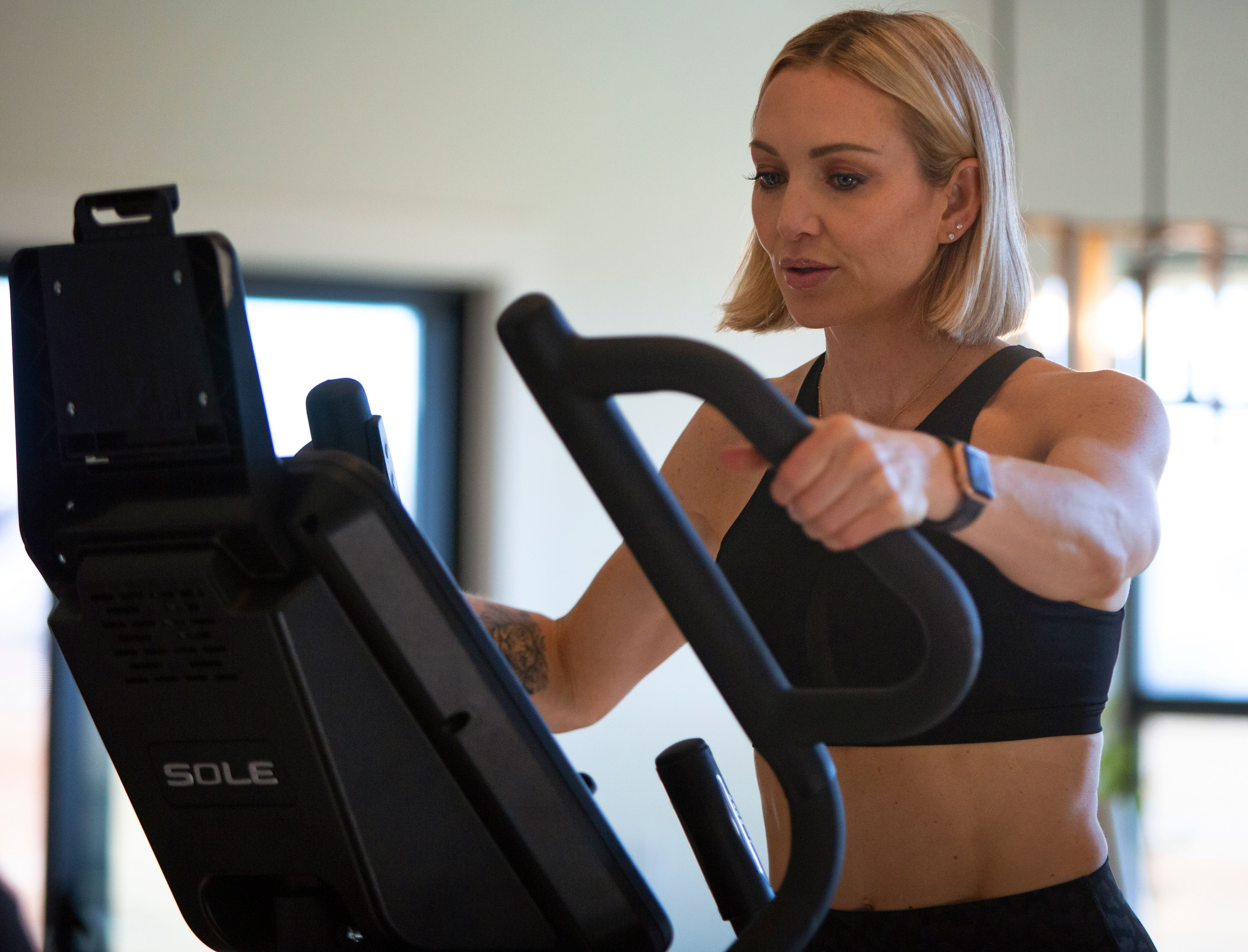 Here S To All Our Amazing Sole Women Out There We Just Want You To Know We See All Your Hard Work And We Bel Exercise Bikes Ellipticals Best At Home Workout