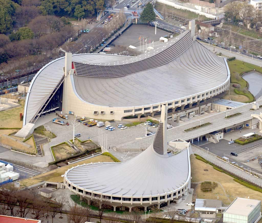 丹下健三 Kenzo Tange 代々木 第二體育館 第一體育館 1964 | 丹下健三 ...