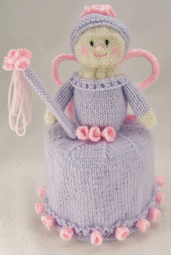 KNITTING PATTERN - Flower Fairy Toilet Roll Cover knitting Pattern ...