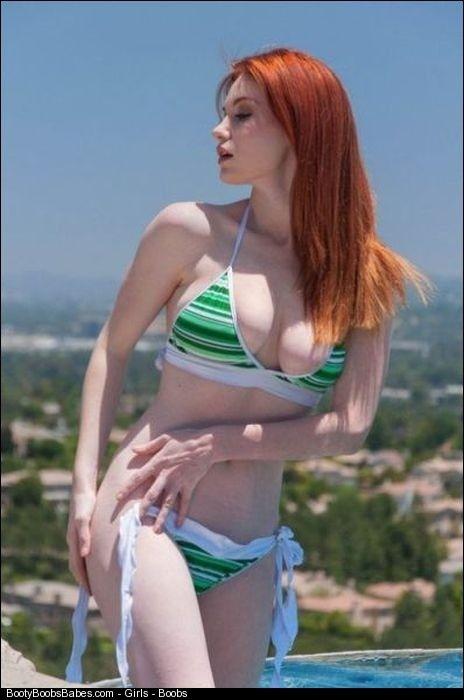 Tits on a beach